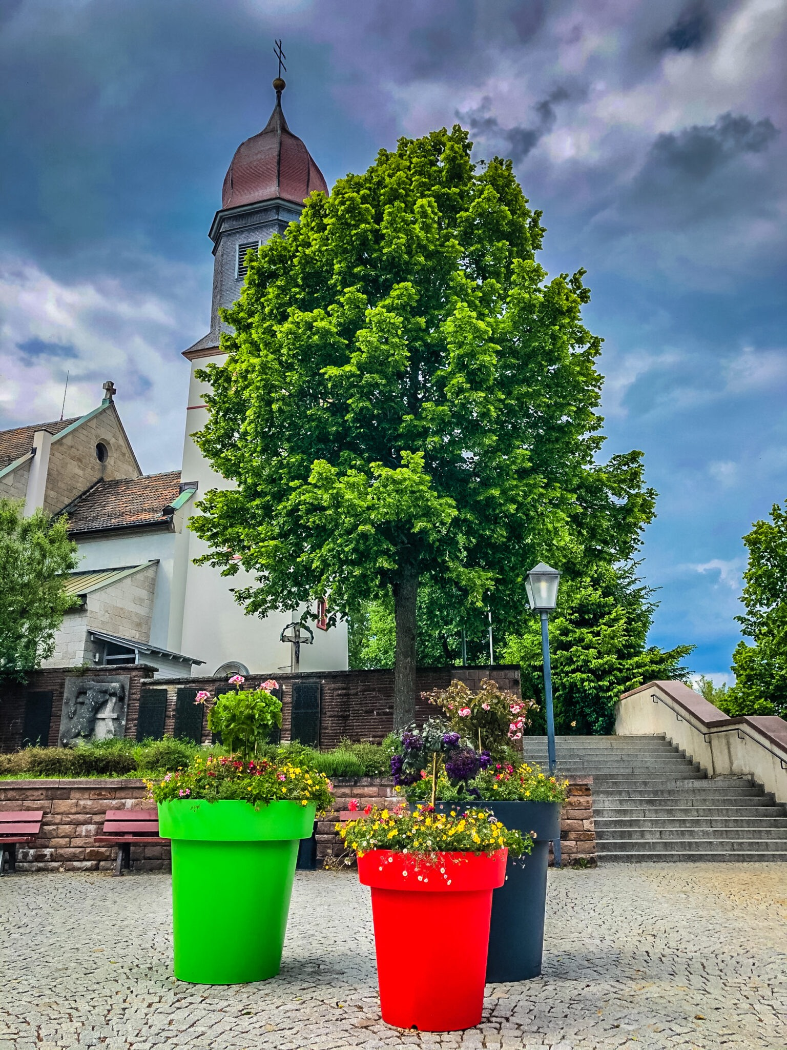 Europe Is Blooming Large Colorful Flower Pots Greenspired