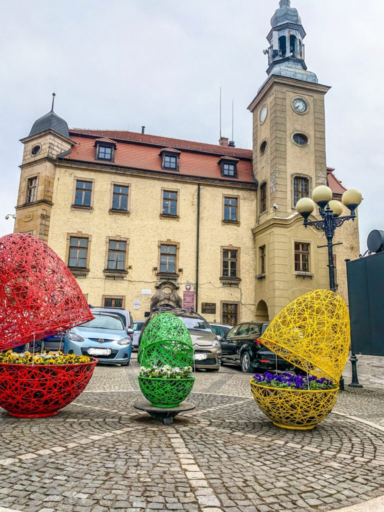 Easter urban decorations terraeaster