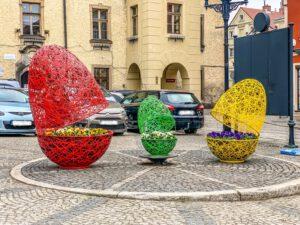 Easter urban decorations terraeaster